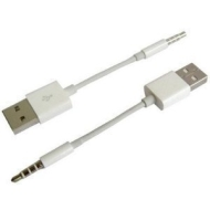 (B) Genuine Apple USB 2.0 Sync & Charge Data Cable For iPod Shuffle 3G 4GB (3rd Generation)
