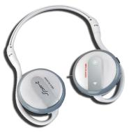 Elonex 1602c MP3 Player Sport Headphones. Folding / Wraparound Style.