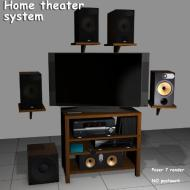 DURABRAND HOME THEATER SYSTEM