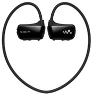 Sony Walkman Waterproof All-in-One Sports MP3 Player - Black