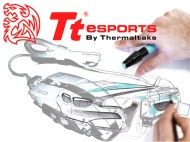 Tt eSports Level 10 M Iron White Gaming Mouse - 8100 dpi