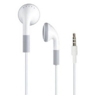 White Compatible Earphone for iPad all Apple iPhone, iPod Generation Shuffle ...