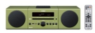 Yamaha - 30W Micro Component Bluetooth Wireless System with Apple® iPod®/iPhone® Dock - Green MCR-B142GR