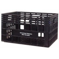 "Advantage Gripware 6 Gallon Milk Crate, Studio Posing Box & Prop - 19""x13""x11"" high"