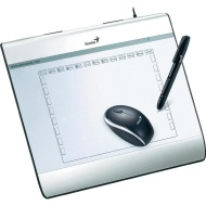 Genius Mousepen I608 6X8 Graphic Tablet