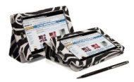 ASUS Google NEXUS 7 (Version 1) Tablet Case with Built-In PropUp Stand & Magnetic Sleep Sensors - from G-HUB - ZEBRA Print (Limited Edition) Cover for