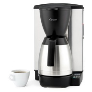 Capresso 485.05 MT600 Plus 10-Cup Programmable Coffee Maker with Thermal Carafe