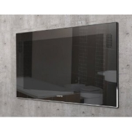 "LX Legend 15.4"" Black Mirror Finish Waterproof Bathroom TV"