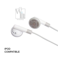 Lux Apple iPod / MP3 Earbud Headphones - White