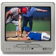 "Magnavox 13"" TV with Built-In DVD Player, MWC13D6"