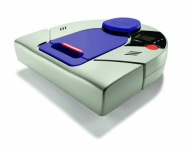 Neato Robotics - XV-21 Pet & Allergy Robotic Vacuum Cleaner - Light Gray/Purple 945-0041