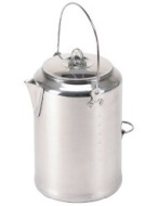 Stansport Aluminum 20 Cup Percolator Coffee Pot