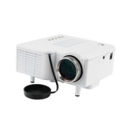 "60"" Portable Mini Hd LED Projector Cinema Theater, Support PC Laptop VGA Input and SD + USB + AV Input"