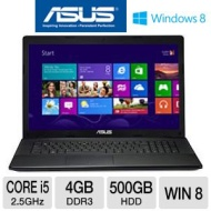 Nb I52. 4gb500gb17. W8dvdrw Asus F75aeh51 Black Notebook I53210m 2.
