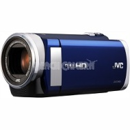 JVC Everio GZ-E200 1080p Full High-Definition 40X Optical Digital Zoom Camcorder - Blue