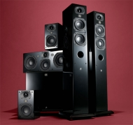 Aperion INTIMUS 4T - Speaker - 2-way - high-gloss black