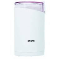 Krups 203-70 Fast Touch Coffee Grinder, White