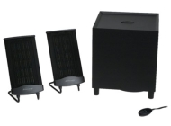 Monsoon MM-700 Flat Panel 3-Piece Computer Speakers