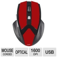 Inland Usb Gaming Optical Mouse Red