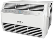 Whirlpool 12,000 BTU 115V Window-Mounted Air Conditioner with Remote Control