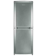 cda539fs fridge freezer silver capacity: fridge: 138 litres / 4.8 cu.ft. freezer: 100 3.