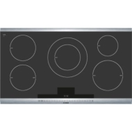 "NEM3664UC - 300 Series 36"" Electric Cooktop - Black"