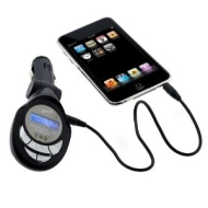GTMax 3.5mm LED FM Transmitter with SD Slot for New Apple iPod Shuffle 2GB