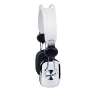 Merkury Retro Headphones - White