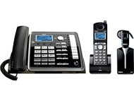 RCA 25270RE3 2-Line DECT 6.0 Corded/Cordless Expandable Phone with Headset