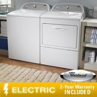 Whirlpool Cabrio Electric Suite 3.6 CuFt Washer 7.4 CuFt Dryer