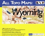 iGage All Topo Maps Wyoming Map CD-ROM (Windows)