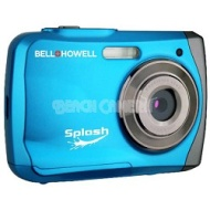 Bell and Howell Splash WP7 12MP Waterproof Camera, Anti-Shake (Black)
