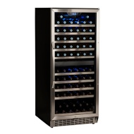 110 Bottle Built-In Dual Zone Wine Cooler CWR1101DZ