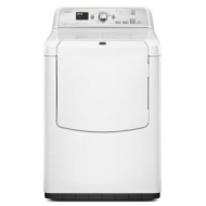 Maytag Bravos 7.3 Cu. Ft. White Electric Dryer - MEDB750YW