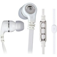 Scosche Iem856m White In-ear Monitor Earbud Headphones With Tapline Iii Control