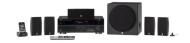 Yamaha YHT-593BL 5.1 Channel 525 Watt HTiB System (Each Black)