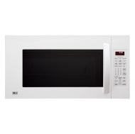 LG LMV2083SW - Microwave oven with grill - built-in - 56.6 litres - 1100 W - white