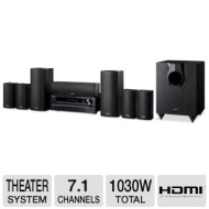 Onkyo HT-S5500 7.1 Channel Home Theater Speaker/ Receiver Package ON