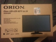 "Orion 24"" Class LED-LCD 720p 60Hz HDTV, SLED2468W Ultra-Slim 2.28"""