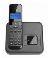 Telekom Sinus CA 33 - schnurloses Telefon mit Anrufbeantworter (Standard/Analog, AB, Full Eco Mode, 50 Telefonbucheinträge)