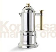 Vev Vigano Stovetop Espresso Maker - Vev Vigano Kontessa Gold 6 cup size