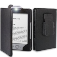 Amazon Kindle Case / Cover With Integrated READING LIGHT for Amazon Kindle / 6 inch / 2011 generation / Book Style - Hi-TEC ESSENTIALS