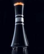 "Boynq Vase"" Acoustic Lens Computer Speaker (Black/Silver)"