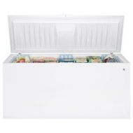 GE - 24.9 Cu. Ft. Chest Freezer - White FCM25SBWW