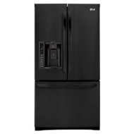 LG 27.6 cu. ft. French-Door Bottom-Freezer Refrigerator with Smart Cooling &