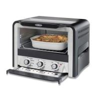 Oster 6071 6-Slice Toaster Oven,  Black/Silver