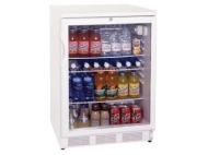 "Summit 20"" Wide Glass Door All-Refrigerator For Freestanding Use"