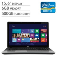 Acer Aspire E1 Laptop, Intel Core i3-3110M 2.4GHz