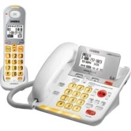 UNIDEN D3098 Cordless/Corded Telephone,Amplified