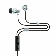 MAXIMO iP-395 iMetal Isolation Earphones with Remote and Mic for iPhone 4/3GS, iPad, and latest iPod